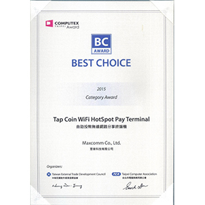 Our Certificate of Best Choice